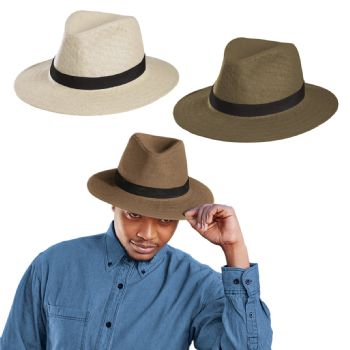 Personalised Straw Hat with Band